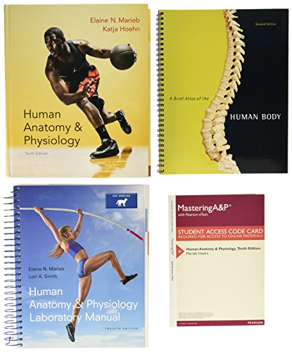 9780134204123: Human Anatomy & Physiology, Mastering A&P with ...
