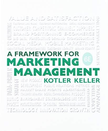 9780134205298: Framework for Marketing Management + Interpretive Simulation, Group B