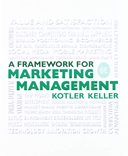9780134205298: Framework for Marketing Management; Interpretive Simulations Access Code Card Group B (6th Edition)