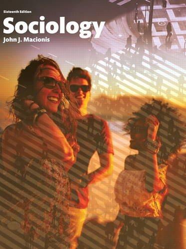 9780134206318: Sociology (16th Edition)