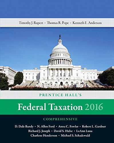 9780134206424: Prentice Hall's Federal Taxation 2016 Comprehensive Plus MyAccountingLab with Pearson eText -- Access Card Package (29th Edition)