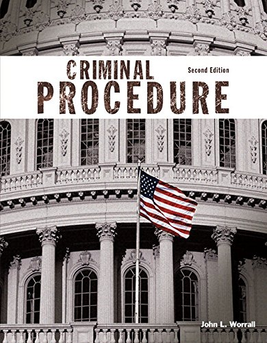 9780134206615: Criminal Procedure, Student Value Edition with MyLab Criminal Justice with Pearson eText -- Access Card Package (2nd Edition)
