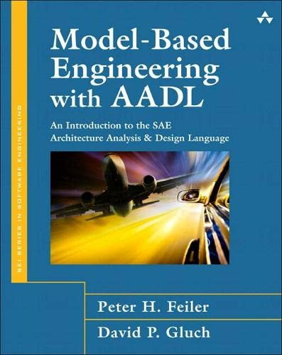 9780134208893: Model-Based Engineering with AADL: An Introduction to the SAE Architecture Analysis & Design Language (paperback)