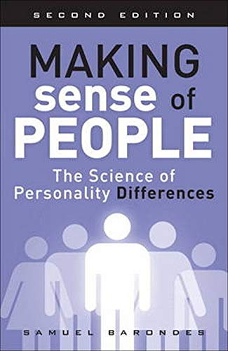 9780134215006: Making Sense of People: The Science of Personality Differences