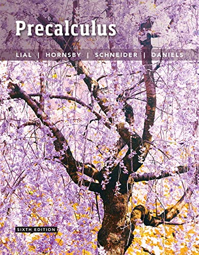 9780134217420: Precalculus (6th Edition)