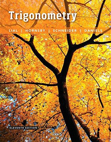 9780134217437: Trigonometry (11th Edition)