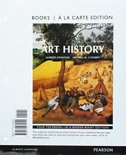 9780134223889: Art History, Books a la Carte Edition Plus Revel -- Access Card Package (5th Edition)
