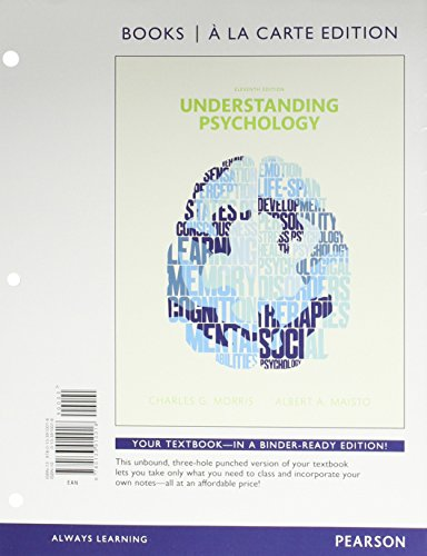 9780134223902: Understanding Psychology, Books a la Carte Edition Plus NEW MyLab Psychology -- Access Card Package (11th Edition)