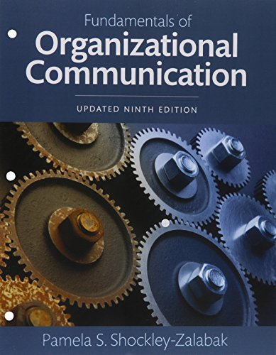 9780134224022: REVEL for Fundamentals of Organizational Communication Books a la Carte Edition Plus REVEL -- Access Card Package (9th Edition)