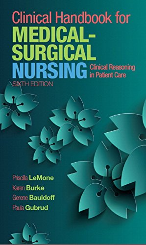 9780134225401: Clinical Handbook for Medical-Surgical Nursing: Clinical Reasoning in Patient Care