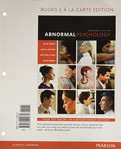 abnormal psychology 17th edition pdf