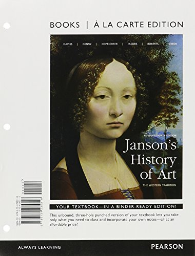 9780134225968: Janson's History of Art, Combined, Books a la Carte Edition Plus REVEL -- Access Card Package (8th Edition)