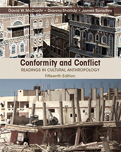 9780134226958: Conformity and Conflict: Readings in Cultural Anthropology Plus NEW MyAnthroLab for Cultural Anthropology -- Access Card Package (15th Edition)