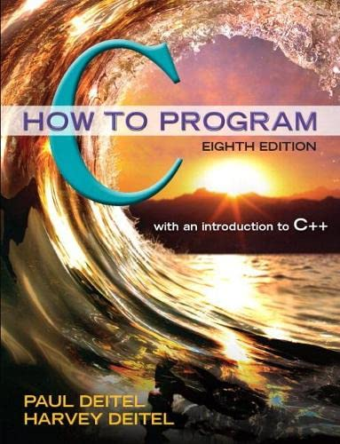 9780134227023: C How to Program Plus MyLab Programming with Pearson eText -- Access Card Package (8th Edition)