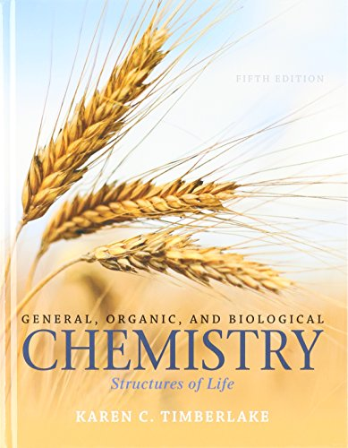 9780134227856: General, Organic, and Biological Chemistry: Structures of Life and Modified Mastering Chemistry with Pearson eText -- ValuePack Access Card (5th Edition)