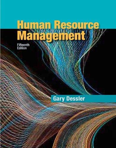 Human Resource Management (15th Edition): Dessler, Gary