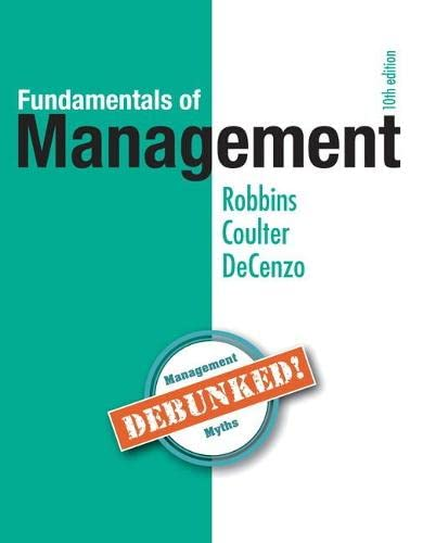 9780134237473: Fundamentals of Management