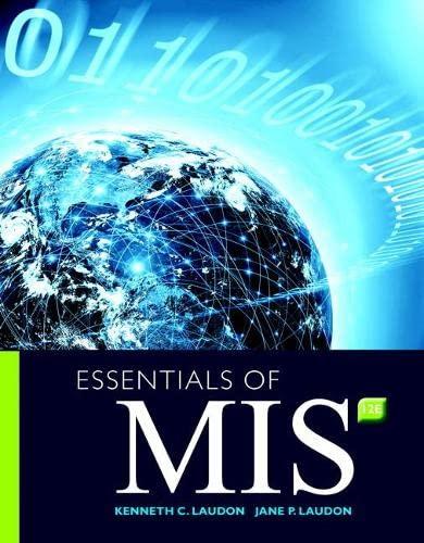 9780134238241: Essentials of MIS (12th Edition)