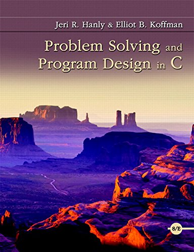 9780134243948: Problem Solving and Program Design in C Plus MyProgrammingLab with Pearson eText -- Access Card Package (8th Edition)