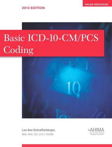 9780134244310: Basic Icd 10 Cm Pcs Coding Exercises