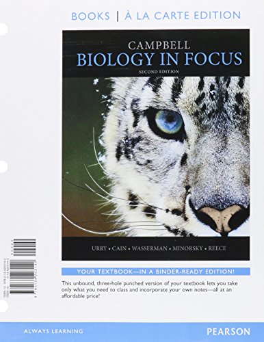 9780134250618: Campbell Biology In Focus, Books a la Carte Plus MasteringBiology with eText -- Access Card Package (2nd Edition)