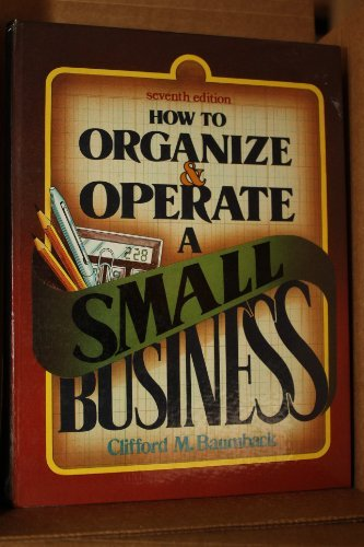 9780134256467: How to Organize and Operate a Small Business