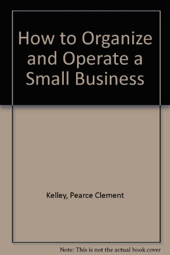 9780134257037: How to Organize and Operate a Small Business