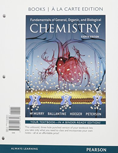 9780134261256: Fundamentals of General, Organic, and Biological Chemistry