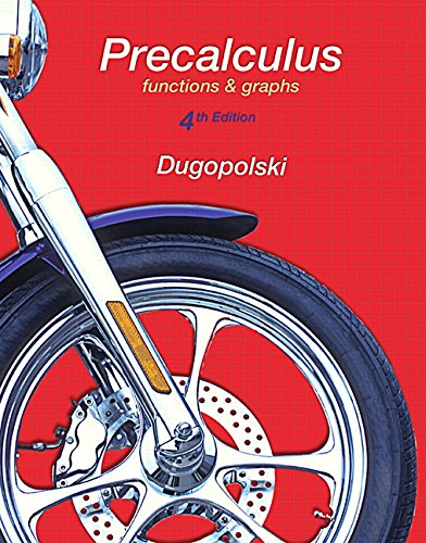 9780134265308: Precalculus: Functions and Graphs