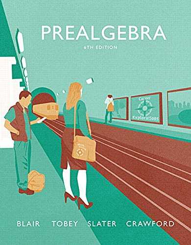 9780134266336: Prealgebra (Tobey Developmental Math Paperback)