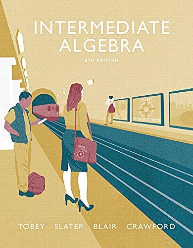 9780134266398: Intermediate Algebra plus MyLab Math -- Access Card Package (8th Edition) (Tobey Developmental Math Paperback Series)