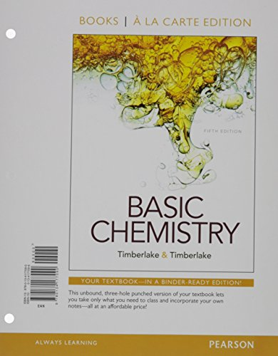Basic Chemistry, Books a la Carte Plus Mastering Chemistry with Pearson eText -- Access Card ...