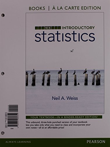 9780134270364: Introductory Statistics, Books a la Carte Plus NEW MyLab Statistics with Pearson eText -- Access Card Package (10th Edition)