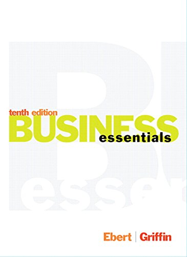 9780134271125: Business Essentials Plus MyBizLab with Pearson eText -- Access Card Package (10th Edition)