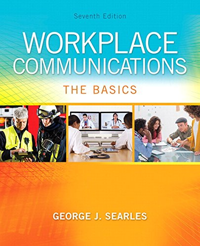 9780134271903: Workplace Communications: The Basics