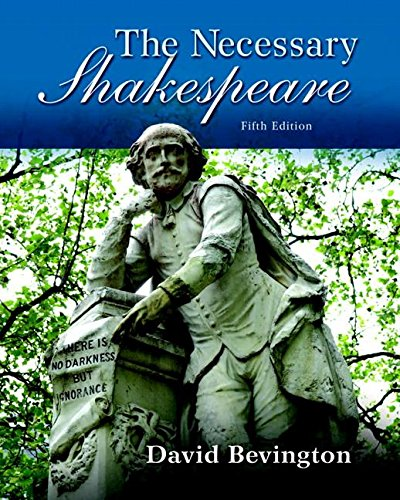 Necessary Shakespeare, The, Plus MyLiteratureLab without Pearson eText -- Access Card Package (5th ...