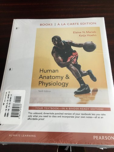 9780134274676: Human Anatomy & Physiology, Books a la Carte Edition; Human Anatomy & Physiology Laboratory Manual, Fetal Pig Version, a la Carte; Modified Mastering ... eText -- ValuePack Access Card (10th Edition)