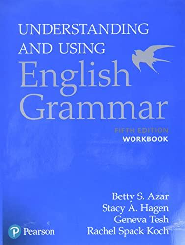 9780134275444: Understanding and Using English Grammar, Workbook