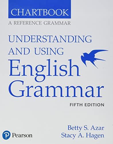 9780134276281: Understanding and Using English Grammar, Chartbook
