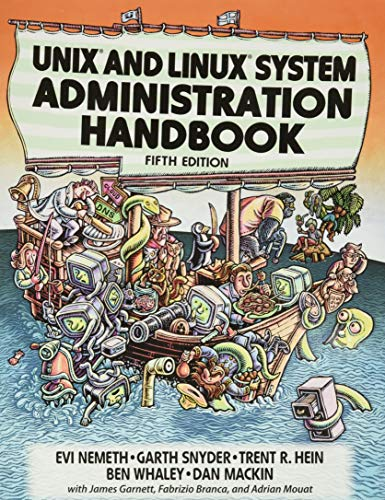 UNIX and Linux System Administration Handbook, 5th: Nemeth, Evi; Snyder,