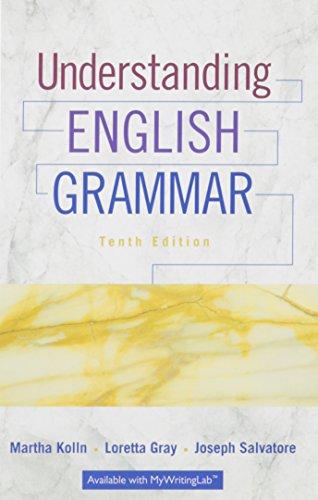 9780134279039: Understanding English Grammar; Exercise Book for Understanding English Grammar (10th Edition)