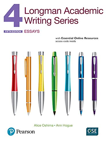 9780134279756: Longman Academic Writing Series 4 Interactive Student Book