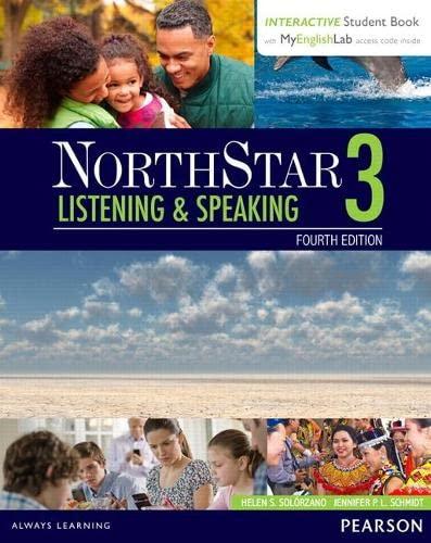 9780134280820: NorthStar Listening and Speaking 3 with Interactive Student Book access code and MyEnglishLab (Northstar Listening & Speaking)