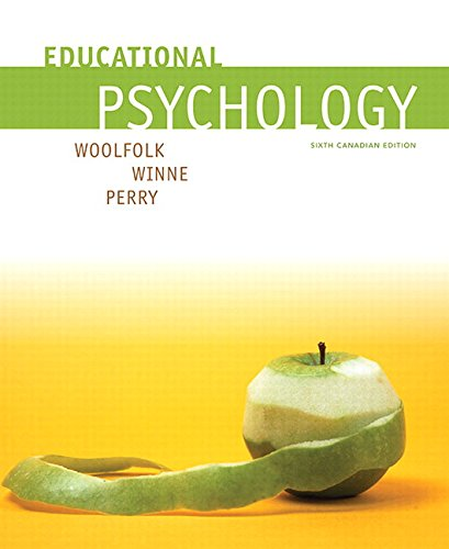 9780134283609: Educational Psychology, Sixth Canadian Edition (6th Edition)