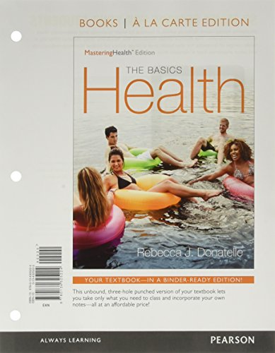 9780134286952: Health: The Basics, The MasteringHealth Edition, Books a la Carte Plus MasteringHealth with Pearson eText -- Access Card Package (12th Edition)