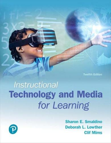 9780134287485: Instructional Technology and Media for Learning (12th Edition)