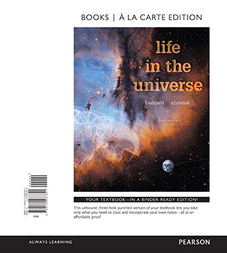 9780134287621: Life in the Universe, Books a la Carte Edition (4th Edition)