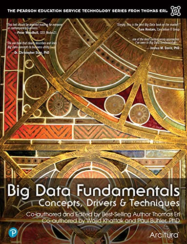 9780134291079: Big Data Fundamentals: Concepts, Drivers & Techniques (The Prentice Hall Service Technology Series from Thomas Erl)