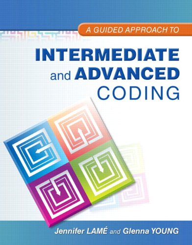 9780134294285: Guided Approach to Intermediate and Advanced Coding with Pearson etext for MIBC, A - Access Card Package