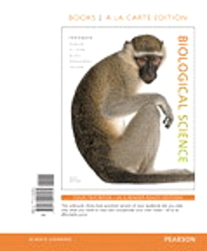 Biological Science, Books a la Carte Plus: Freeman, Scott; Quillin,